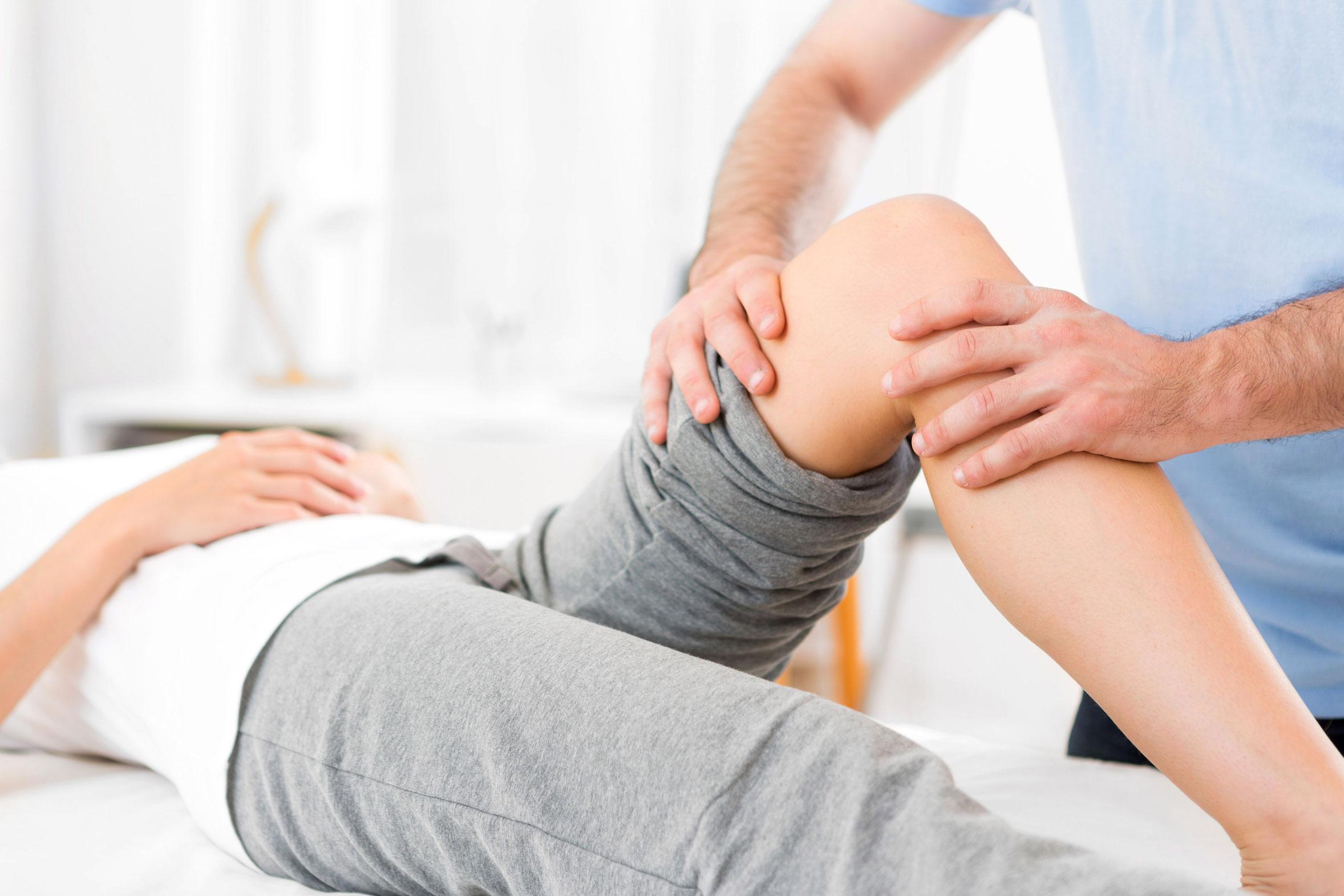 Déroulement d'une séance de physiothérapie